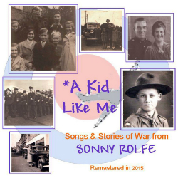 image of cd titled: a kid like me by sonny rolfe