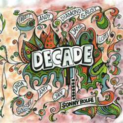 image of cd titled: decade, by sonny rolfe and friends