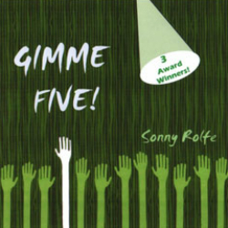 image of cd titled: gimme five!, by sonny rolfe and friends